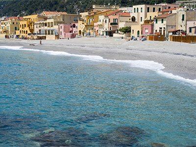 Varigotti. Tourist destination in Liguria region of Italy